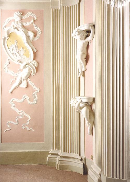 Stucco di calce o stucco di gesso quaderni quarneti - Decorazioni in gesso ...